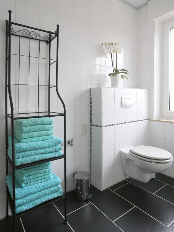 Badezimmer Regale über Wc | Möbelideen Handtuch Schrank Badezimmer